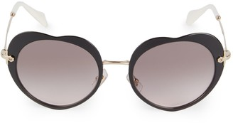 Miu Miu 52MM Gradient Circle Sunglasses