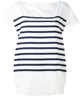 Sacai striped T-shirt - women - Cotton/Polyester - 3