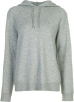 Alexander Wang hooded sweatshirt - women - Cashmere/Wool - XS