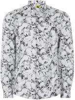 Topman NOOSE & MONKEY White 'Smokey' Shirt