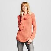 Heather B Women's Stitch Interest Cowl Pullover