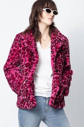 Zadig & Voltaire Lila Leopard Jacket