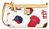 Dooney & Bourke St. Louis Cardinals Canvas Large Slim Wristlet