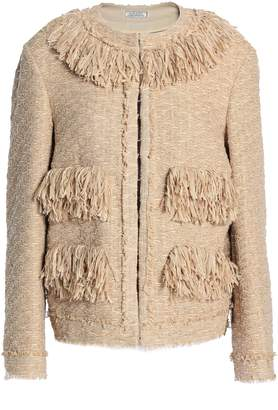 Nina Ricci Fringe-trimmed Tweed Jacket
