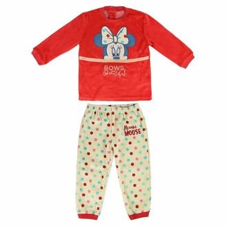 CERDA ARTESANIA Baby Girls' Pijama Largo Minnie Pyjama Sets