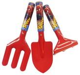 Spiderman 3 Piece Kids Garden Tool Set - Fork, Trowel and Rake - Multi Color