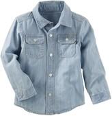 Osh Kosh Toddler Boy Chambray Denim Button-Down Shirt