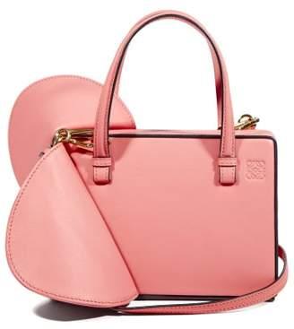 Loewe Postal Wings Small Leather Box Bag - Womens - Pink
