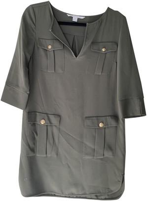 Diane von Furstenberg Green Synthetic Dresses