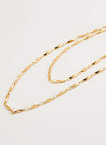 Gorjana Layer Faceted Wrap Necklace