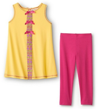 American Girl Flower Power Pajamas For Girls L-Q