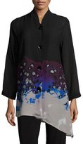 Caroline Rose In The Mix Angled Blouse, Petite