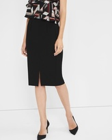 White House Black Market Petite Ponte Pencil Skirt