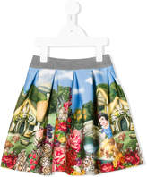 MonnaLisa floral pleated skirt