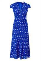 Libelula Tamara Dress - Flying Flamingo Print - Blue