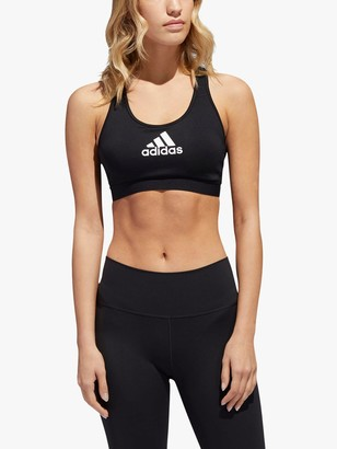 adidas Don't Rest Alphaskin Sports Bra, Black