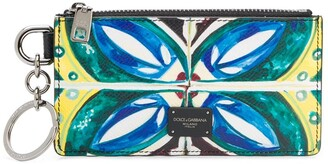 Dolce & Gabbana Dauphine patterned coin pouch