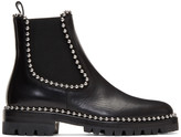 Alexander Wang Black Spencer Chelsea Boots