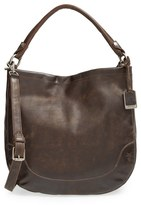 Frye Melissa Washed Leather Hobo - Brown