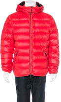 Versace Hooded Puffer Jacket