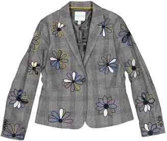 Mira Mikati Grey Wool Jacket for Women