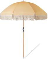 Sunday Supply Co Golden Beach Umbrella Yellow