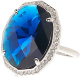 Cole Haan Oval Faceted Bezel Ring - Size 8