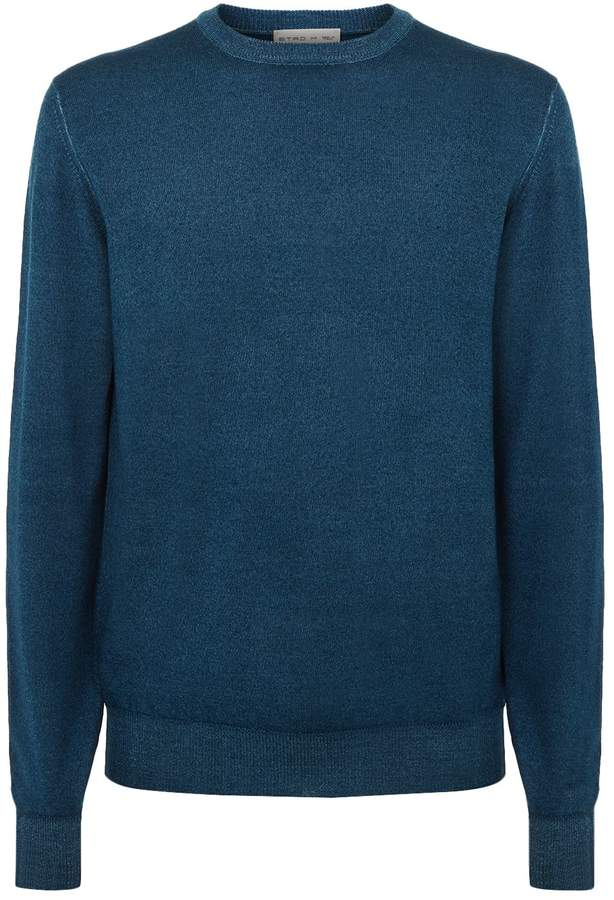 Etro Wool Round Neck Sweater
