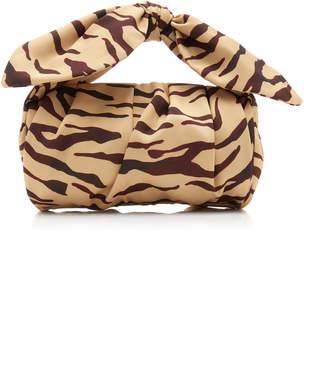 REJINA PYO Nane Zebra-Print Leather Bag