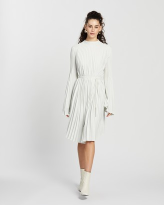 Ellery Perdiccas Short Pleated Dress