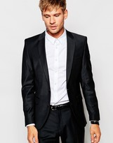 Selected Travel Suit Jacket with Stretch in Slim Fit