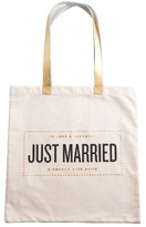 Rosanna Just Married Tote - White