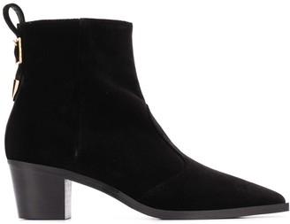 L'Autre Chose Ankle-Length Heeled Boots