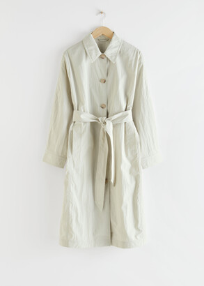 And other stories Oversized Lightweight Trenchcoat