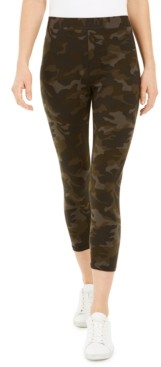 Style&Co. Style & Co Camouflage Capri Leggings, Created for Macy's