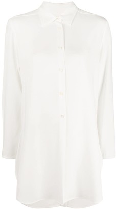 Alberto Biani Plain Long-Sleeved Shirt