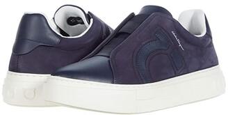 Salvatore Ferragamo Tasko Sneaker (Indigo) Men's Shoes
