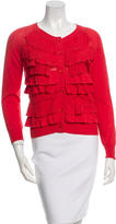 3.1 Phillip Lim Ruffled-Accented Cardigan