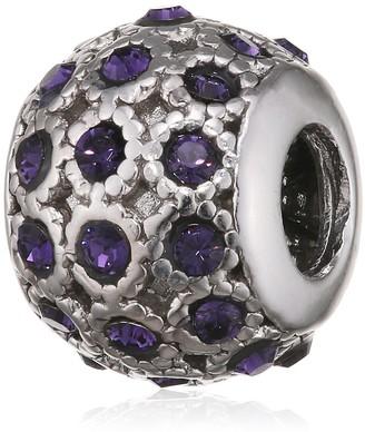 Belli Baci Charm in 925 Silver Swarovski Crystal with Other 314170