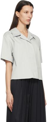 MM6 MAISON MARGIELA Grey Denim Lightweight Shirt