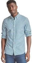 Gap Oxford gingham slim fit shirt