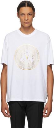 Versace Jeans Couture White Emblem T-Shirt