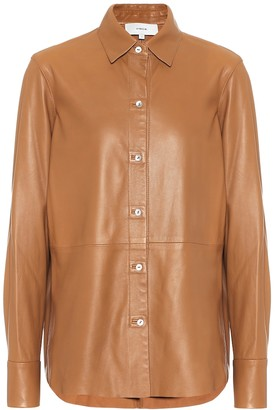 Vince Leather shirt