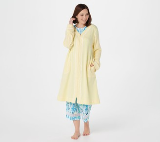 Carole Hochman Midi Length Full Zip Spa Robe