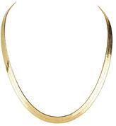 Bliss Gold Herringbone Necklace