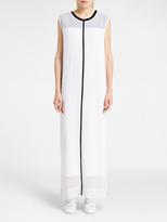 DKNY Pure Maxi Double Layer Dress