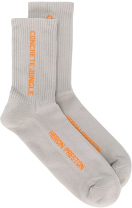 Heron Preston Concrete Jungle socks