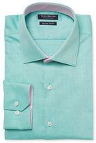 Tailorbyrd Cotton Spread Collar Dress Shirt