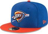 New Era Oklahoma City Thunder 2 Tone Team 59FIFTY Cap
