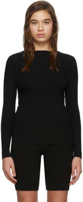 giu giu Black Nonna Jewel Sweater